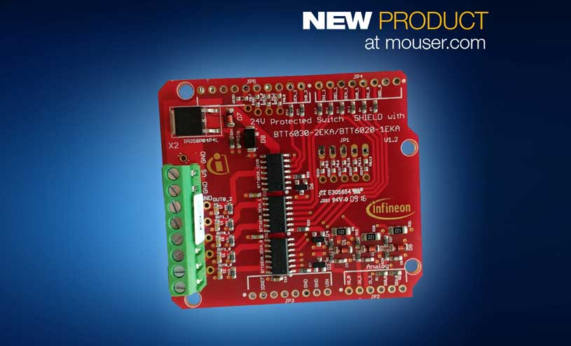 Protected Switch Shield with PROFET 24V
