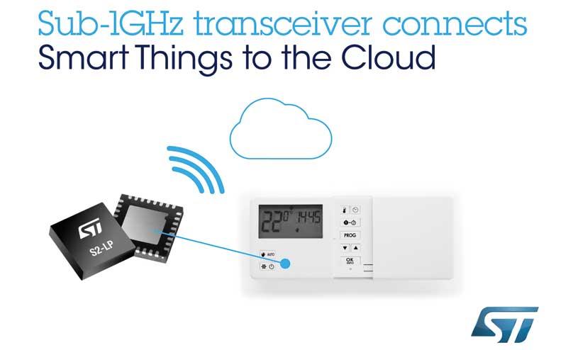S2-LP transceiver
