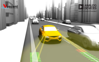 Analog Devices Bids on Autonomous Driving Acquires Laser Technology from Vescent Photonics