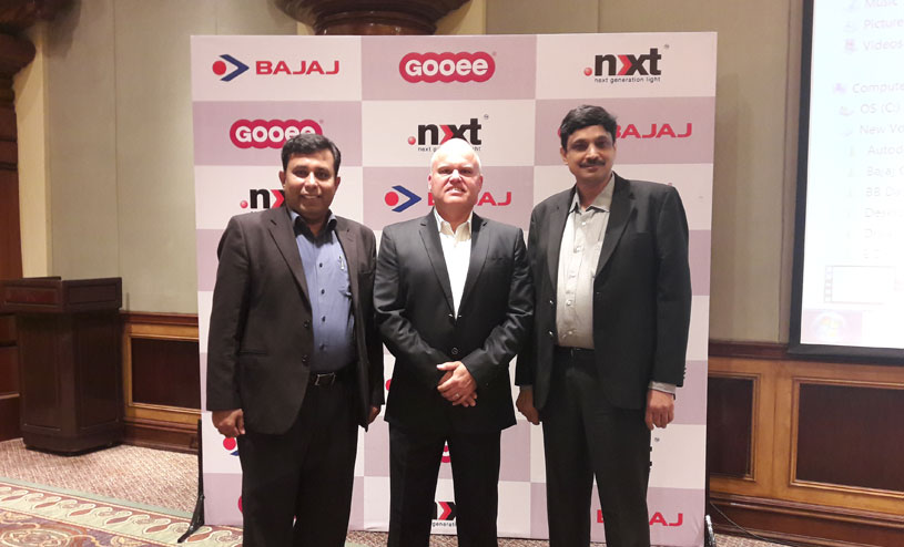 Bajaj Electricals and UK based Gooee