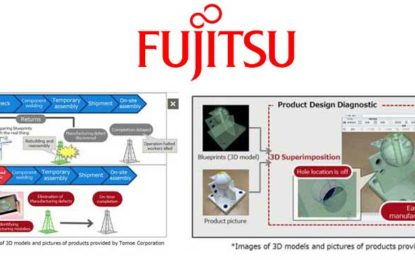 Fujitsu Uses AR Technology in 3D Superimposed Product Design Diagnostic Solution