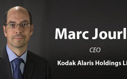 Kodak Alaris Loops Marc Jourlait as its New CEO