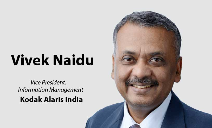 Vivek Naidu Kodak Alaris India