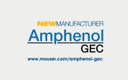 Mouser and Amphenol GEC inks Global Distribution Agreement