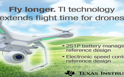 Quadcopters and Industrial Drones to Enhance Flight Time with TI Technology