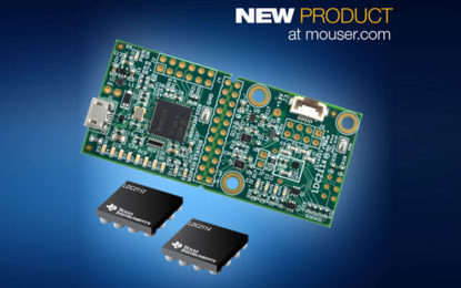 Mouser First Distributor to Offer TI LDC2114 EVM for Inductive Touch Sensing