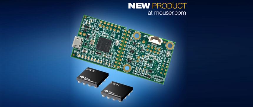 Mouser Electronics TI LDC2114 EVM