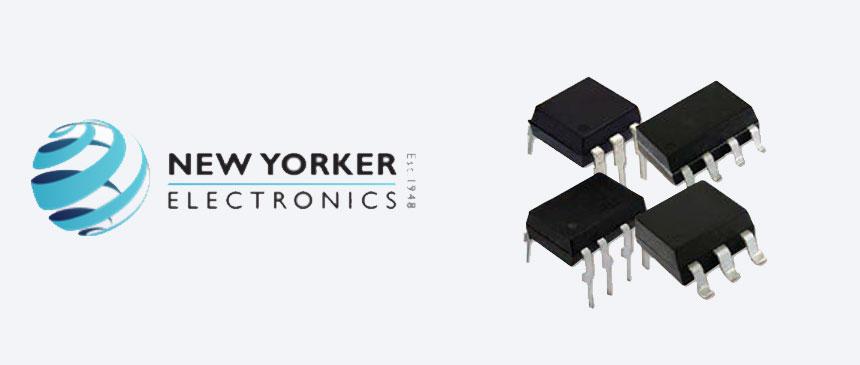 New Yorker Electronics VOR1121A6, VOR1121B6, VOR2121A8 and VOR2121B8 relay models