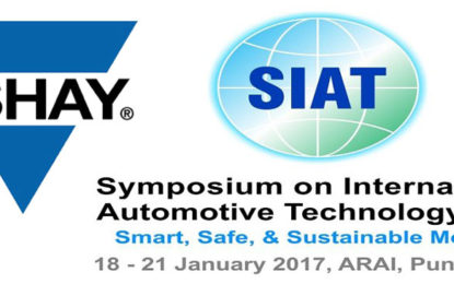 Vishay to Detail its Automotive Product Line at SIAT 2017