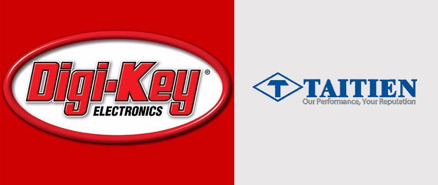 Digi-Key electronics and Taitien