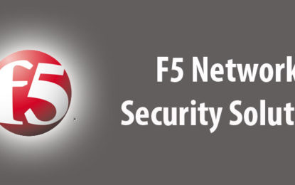 F5 Offers Application Security for the Digital Economy