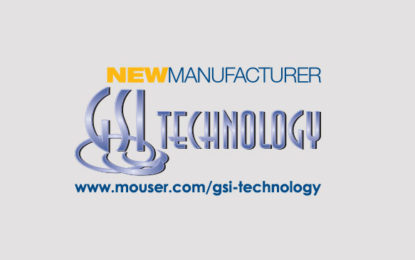 Mouser to now be Global Distributor for GSI Technology
