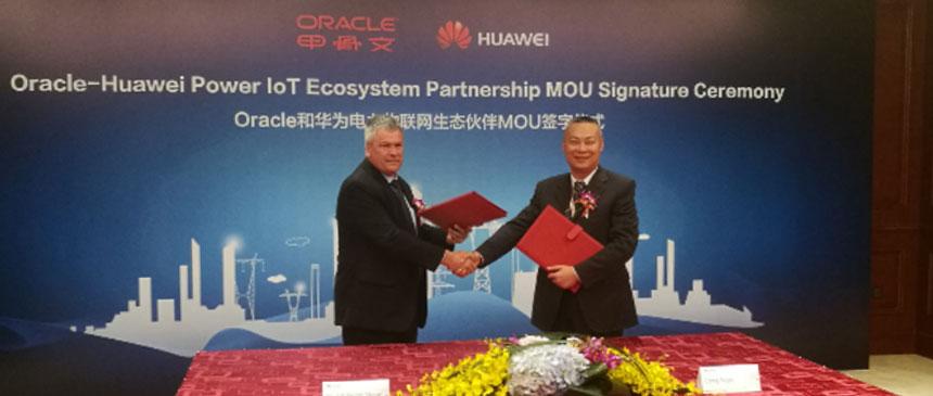 Huawei, Oracle