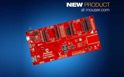 Mouser Brings Microchip PIC32MX470 Curiosity Dev Board for 32-Bit Prototypes