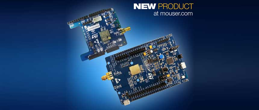 New STM32 Boards Cuts Cost Delivers Ultra-Low-Power LPWAN Evaluation
