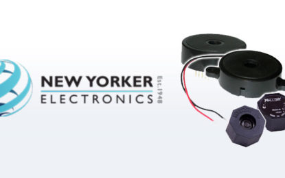 New Yorker Electronics Broadens Medical Electronics Offerings with USA-Made Audible Alarms
