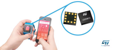 STMicroelectronics' Tiny New Versatile Accelerometer Sports Unparallel Resolution and Low Power