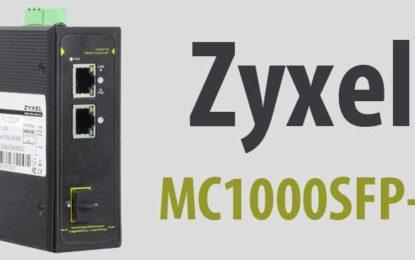 Zyxel Unveils New MC1000SFP-IN 3 Port Gigabit Industrial Switch