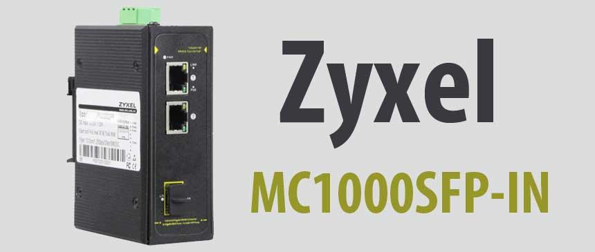 Zyxel MC1000SFP-IN