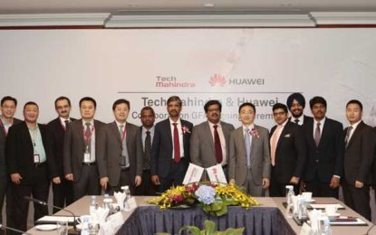 Tech Mahindra to Take Huawei Enterprise Products to Global Markets