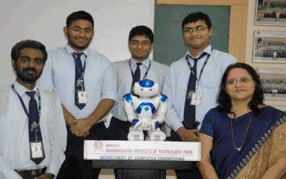IBM Watson Powered Robot 'Chintu' Pegs Future Research at MIT Tech Fest in Pune