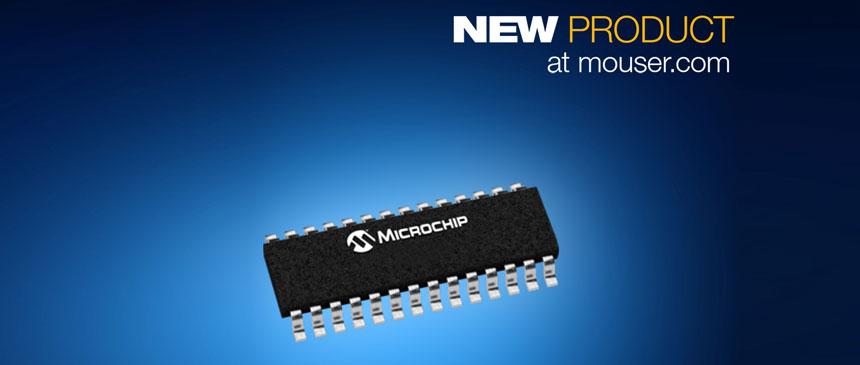 Microchip Electronics PIC18F K40 MCUs
