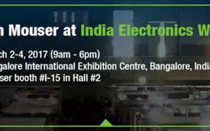 Mouser Electronics Encase Future, Sponsors India Electronics Week