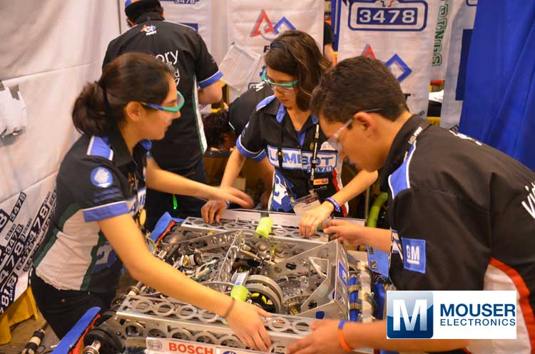 Mouser Electronics to Sponsor FIRST Robotics Competition