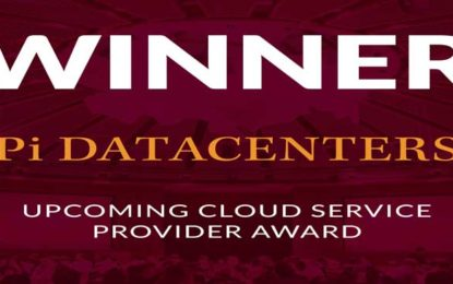 "Pi DATACENTERS Bags Best ""Upcoming Cloud Service Provider"" in Asia at Datacloud Asia 2017"