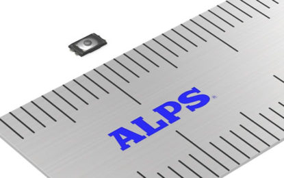 """ALPS Electric Announces Mass Production of """"SKTA Series"""" Surface Mount TACT Switch with Projection (IP67 Equivalent)"""