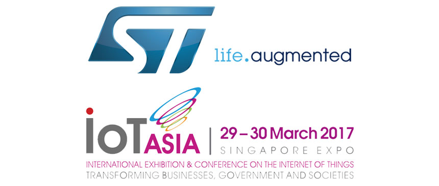 STMicroelectronics at IoT Asia