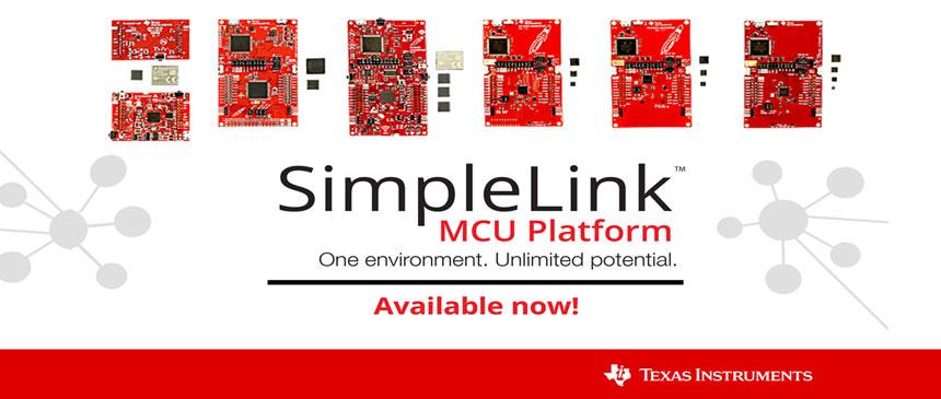 SimpleLink MCU platform