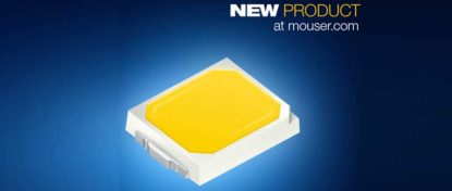 Mouser Electronics Now Shipping OSRAM's High-Efficacy DURIS E 2835 LEDs