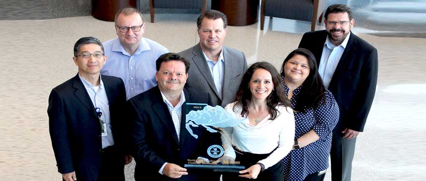 Mouser Electronics NorthFace ScoreBoard Award