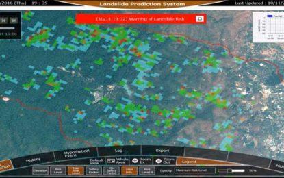 NEC Successfully Trials Landslide Prediction System in Thailand