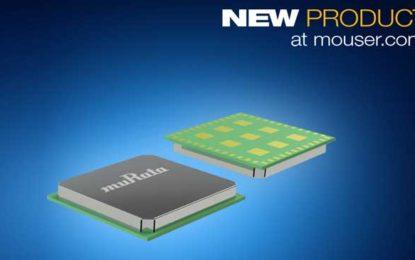 Mouser Electronics Stocks Murata's Ultra-Compact Standalone Type ABZ LoRa Module