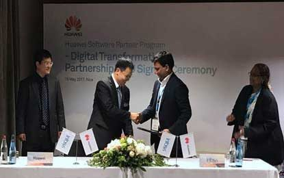 Huawei influxes Telco OS Partner Program Allies with Infosys