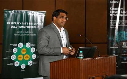 Kaspersky Lab and eCaps Computers Conduct Partner Pitstop in Chennai