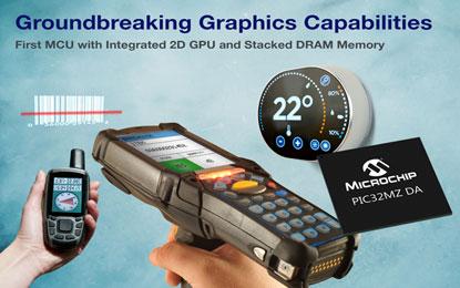 Microchip Technology Groundbreaks Graphics Capabilities