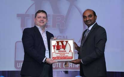 Pi DATACENTERS Bags Uptime Institute Tier IV Design Certification