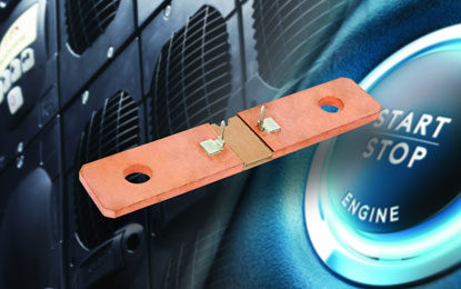Vishay Intertechnology Unveils WSBS8518…20 Power Metal Strip Battery Shunt Resistor