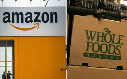 Amazon and Whole Foods market