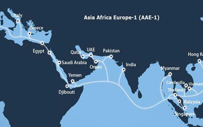 Reliance Jio to Link Asia-Africa-Europe Announces Massive 100Gbps Submarine Cable System