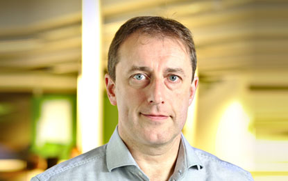Luc Burgelman, CEO of NGDATA