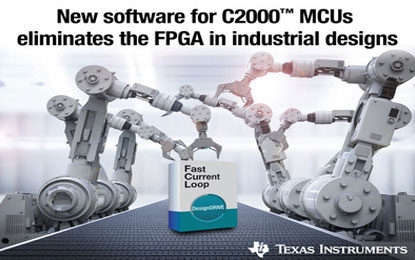 TI's New MCU Software Eliminates an FPGA to Achieve a Sub-1 Microsecond Current Loop in Industrial Systems