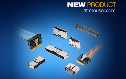 Mouser Electronics stock the Sliver internal cabled interconnects