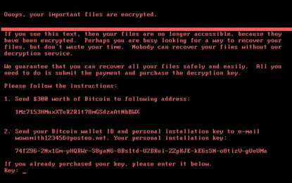 After WannaCry, Brutal 'Petya' Boo Global Security Cult