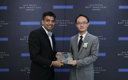 Huawei Wins Telecom Equipment Vendor of the Year