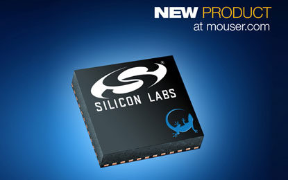 Mouser Now Stocking Silicon Labs' Latest Blue Gecko Bluetooth 5 SoCs