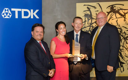Mouser Electronics Recognised With TDK's European Distribution Award